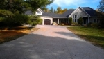 Exposed Aggregate (Rocky Top) concrete Driveway