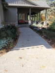 Rocky Top Concrete sidewalk